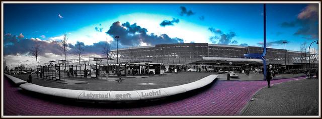 Station Lelystad geeft Lucht! (05-02-2013).