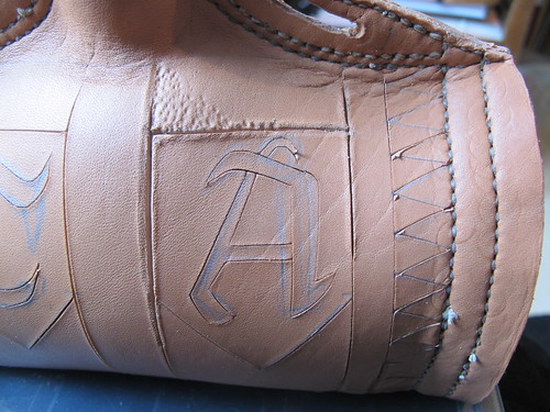 leather costrel 13