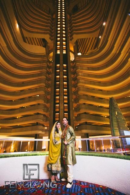 Marriott marquis wedding