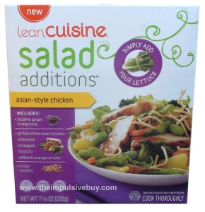 Lean Cuisine Asian-Style Chicken Salad Additions