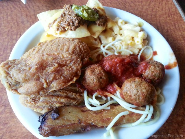 Sizzler Lunch