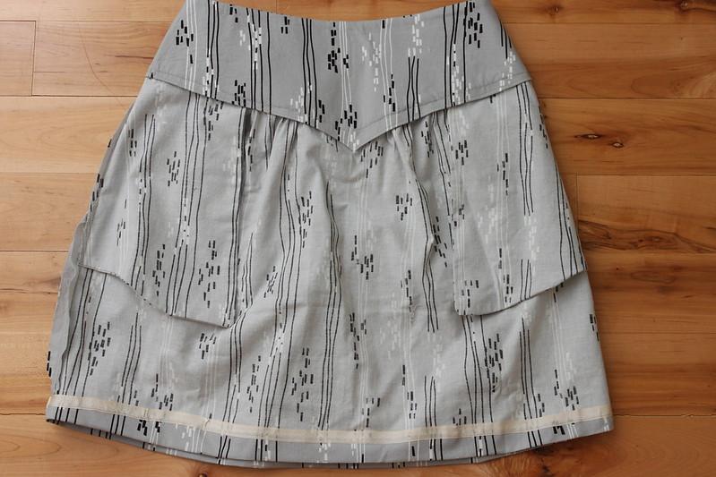 Crescent Skirt - Inside