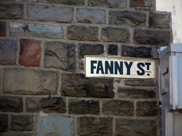 Street Signs, Cardiff