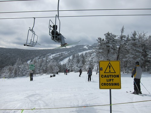 Caution Lift Crossing by Joe Shlabotnik