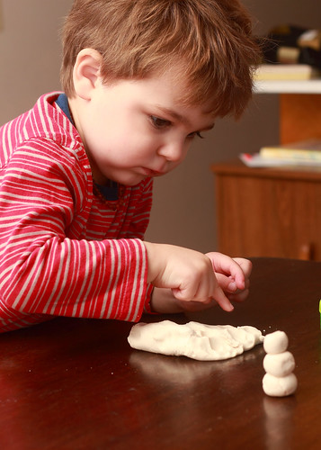 Play Dough Snow