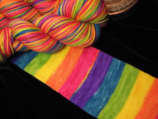 Tropical Rainbow Stripe Journey