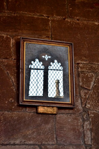 Reflection, Baronial Hall, Chetham's Library by Angela Seager