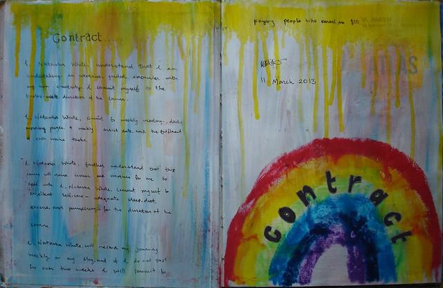 Artist's Way Contract