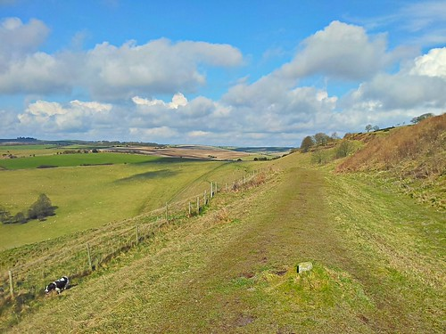 South Downs from cissbury ring by www.sussex-mtb.com