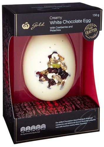 White Chocolate Egg