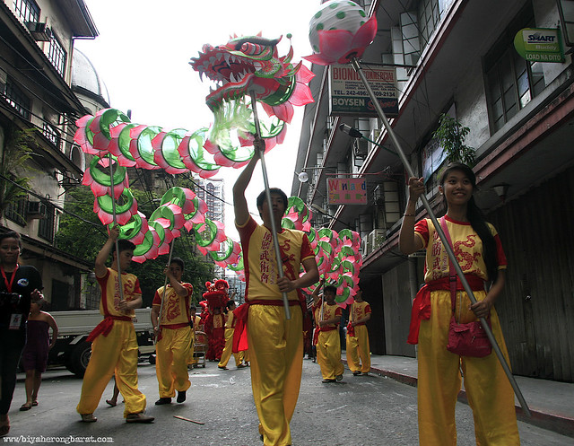 Dragon Dance by the Ming Sheng Wushu Association Chinatown Binondo