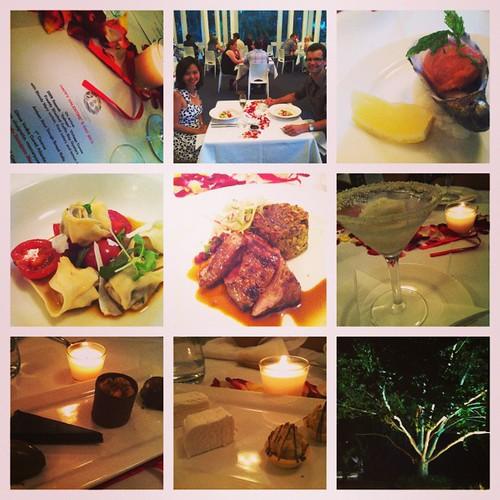 Day 45/365 (2013): A part-surprise Valentine's Day dinner