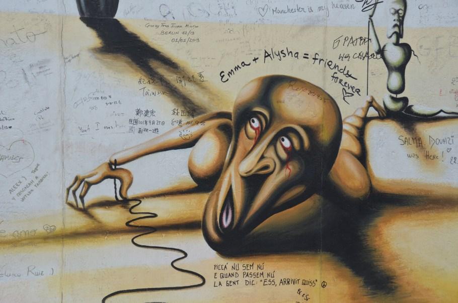 Berlin Street Art, foto door Johnny, hunzas666 | Standort Hamburg