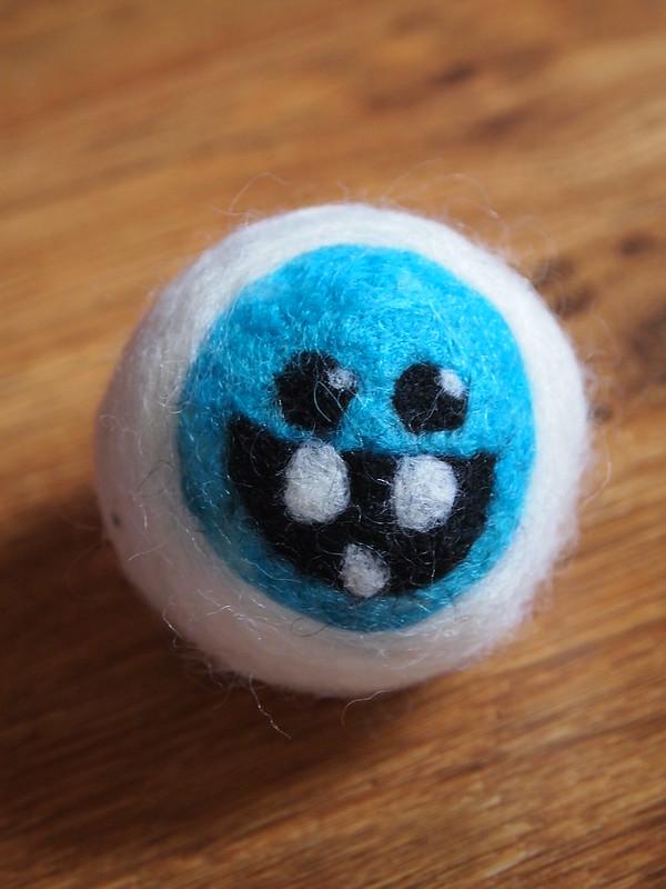 Needle Felted Dryer Balls
