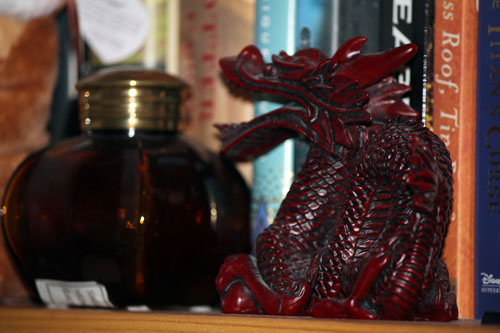 Dragon Statue on my shelf