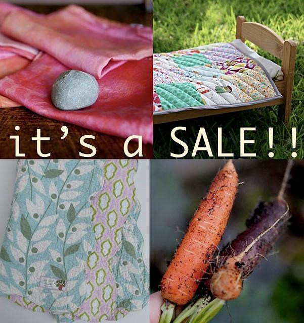 it's a sale.....