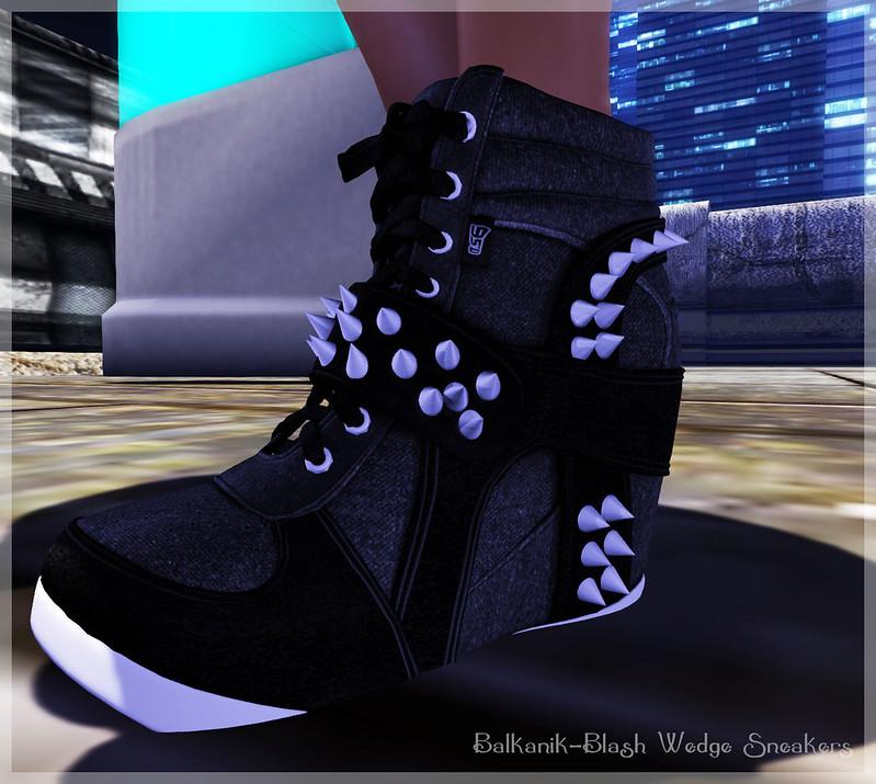 BLASH Wedge Sneakers