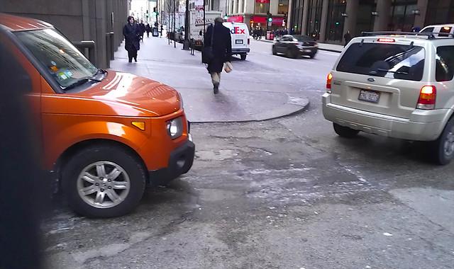 Alley crossing