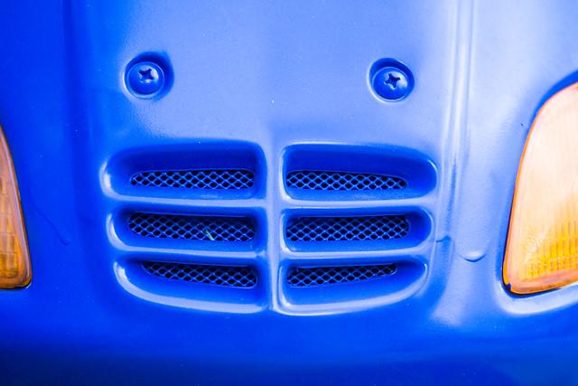 Moped aus der Blue Man Group