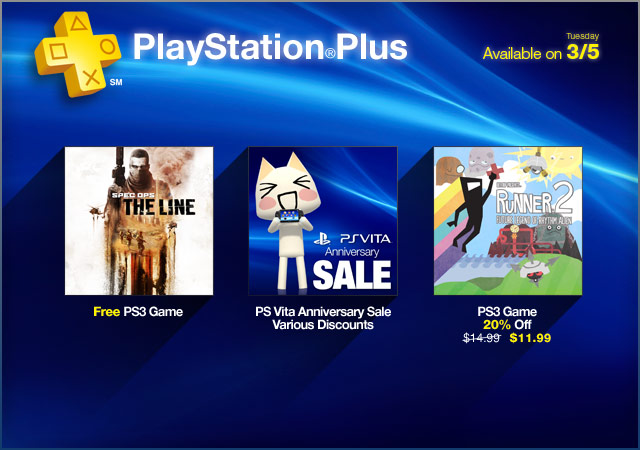 PlayStation Store Update 3-5-2013