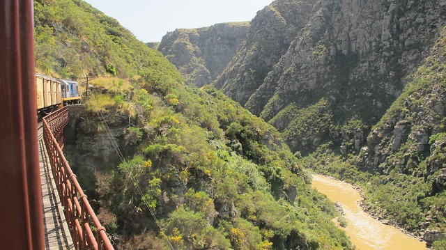 Taieri Gorge train route
