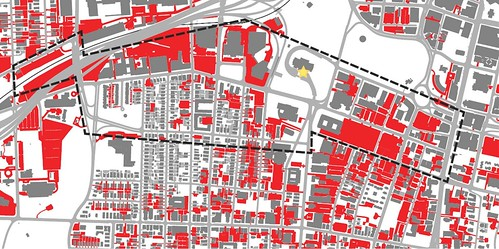 parking lots in dowtown Hartford (by: Nelson Byrd Woltz, via Greening America's Capitals report)