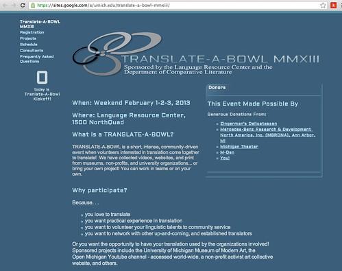 Translate-a-Bowl
