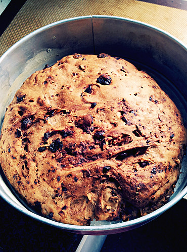 Chocolate Cranberry Nut Bread