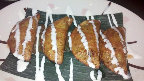 Plantain empanadas