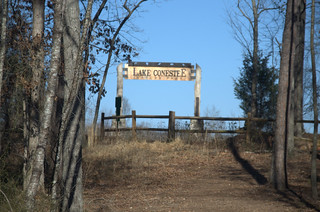 Lake Connestee Sign