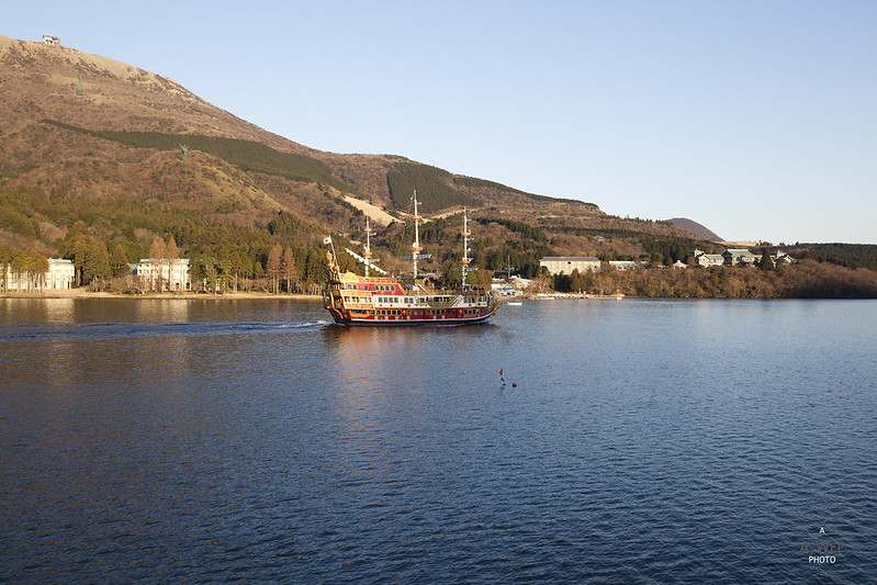 Sunset Cruise at Lake Ashi 芦ノ湖