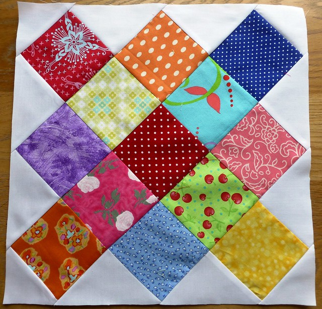 "12.5"" Granny Square (Arbor window) Block Jan13"
