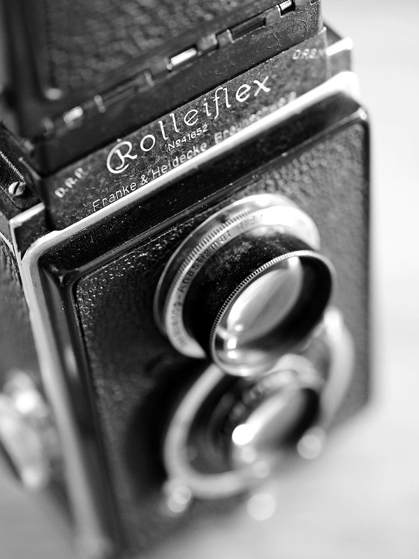 Original Rolleiflex (1929) - The idea from the trenches
