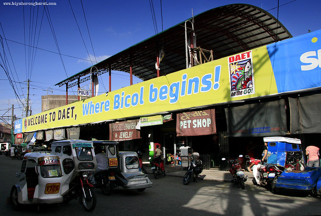 Elevated Town Plaza Welcome To Daet Where Bicol Begins