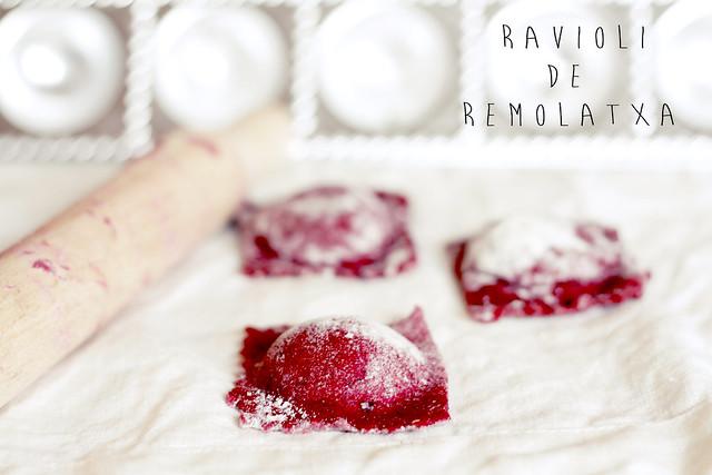 Rvioli de remolatxa expo RDR