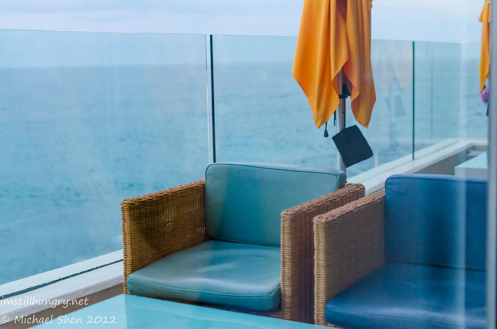 Icebergs - outdoor lounge