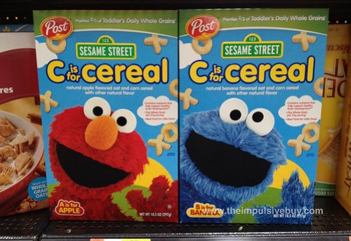 Post Sesame Street C is for Cereal