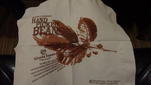 Gloria Jeans Coffees_紙巾