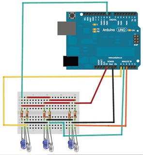 line-sensing-robot-tester_using-Infrared-and-photodiode