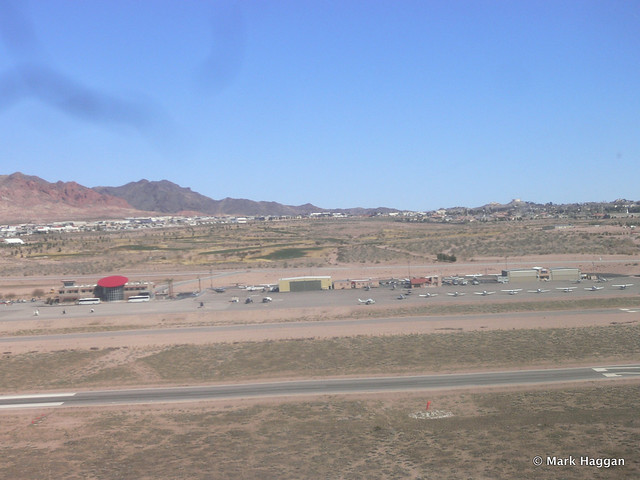 Airfield near Las Vegas