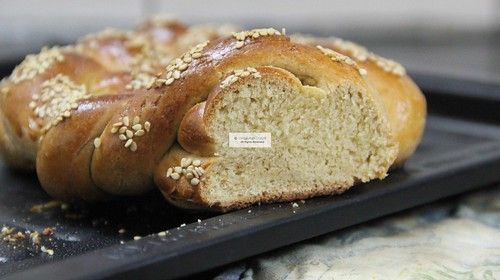 Challah cross section