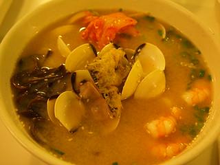 Seafood and Kimchi ramen