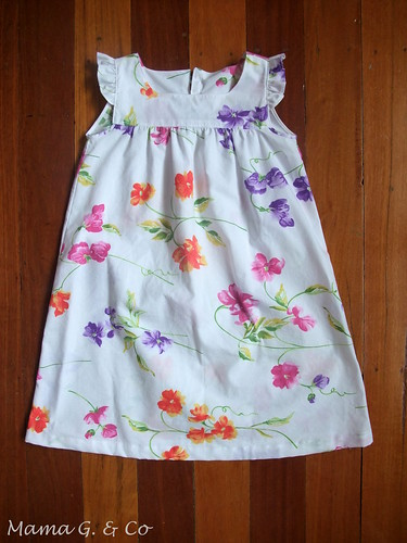 Frilly Sleeves Dress (1)