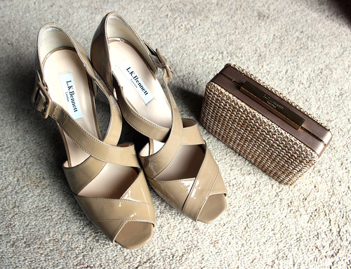 Clutch and shoes