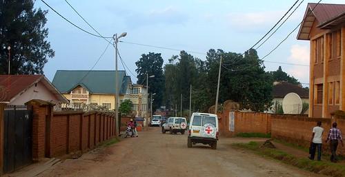 Proximité maison Dr Denis Mukwege et bureau UN OCHA à Muhumba, Bukavu