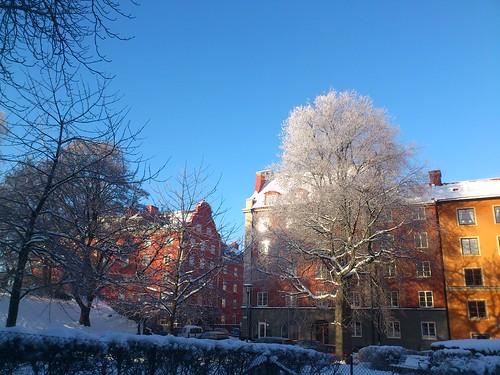Frost i Röda bergen