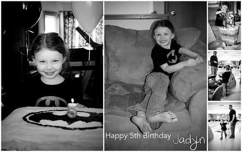 Jadyn's 5th Birthday