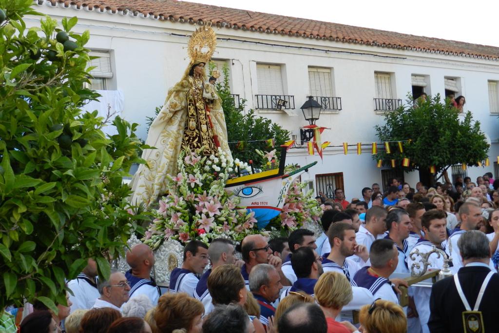Procesión de la Virgen del Carmen 2012 Fuengirola Málaga  22