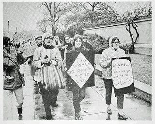 Women Hit 'Distinguished Ladies': Counter-Inaugural 1969