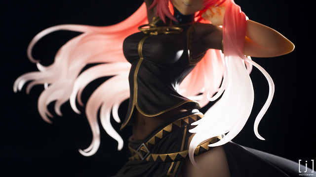 Megurine Luka: Tony Ver. - Closeup of Transparent Hair